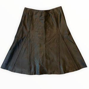 Vintage Margaret Godfrey Genuine Leather Skirt